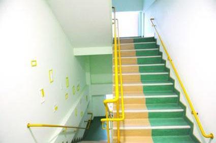 东莞清溪镇商业楼梯-pvc阶梯地胶客户设计案例