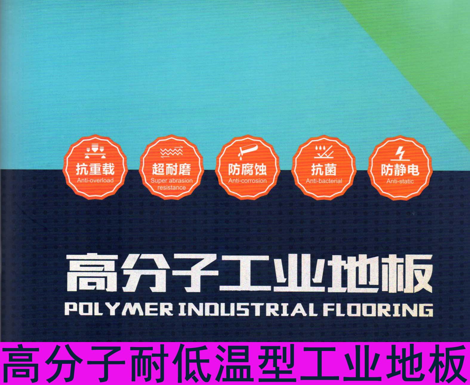 高分子耐低温型工业地板